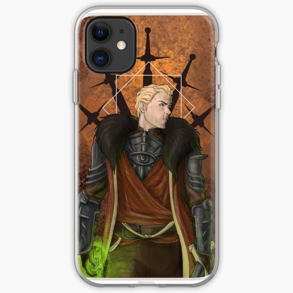Cullen Rutherford: Inquisitor iPhone Soft Case