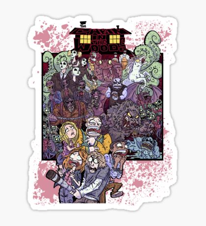 The Cabin in the Woods Sticker