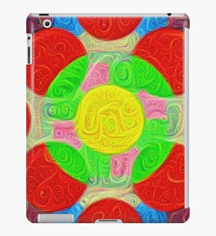 #DeepDream Color Squares Circles Visual Areas 5x5K v1448218386 iPad Case/Skin