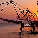 Kochi Fishing Nets by phil decocco