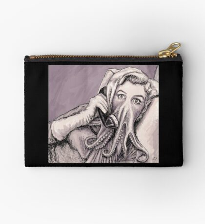Phone Call of Cthulyn Zipper Pouch
