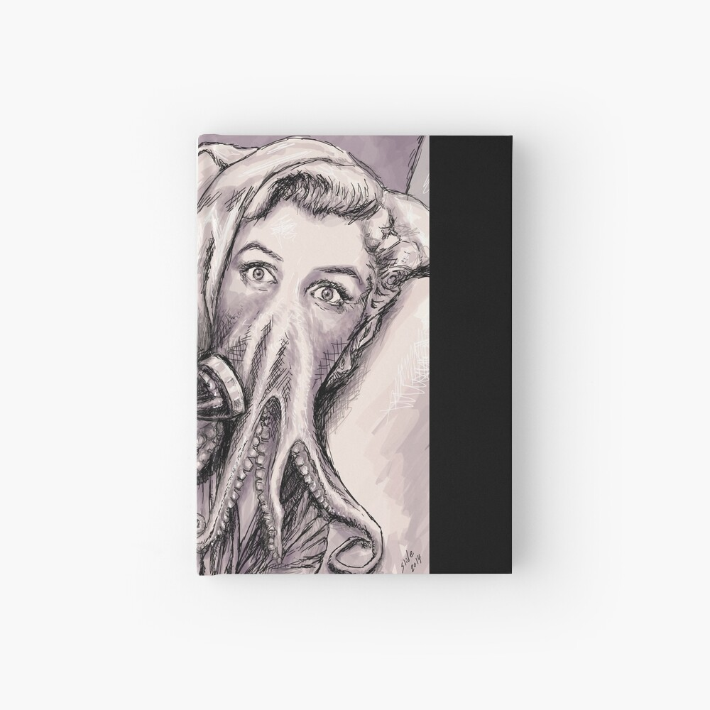 Phone Call of Cthulyn Hardcover Journal
