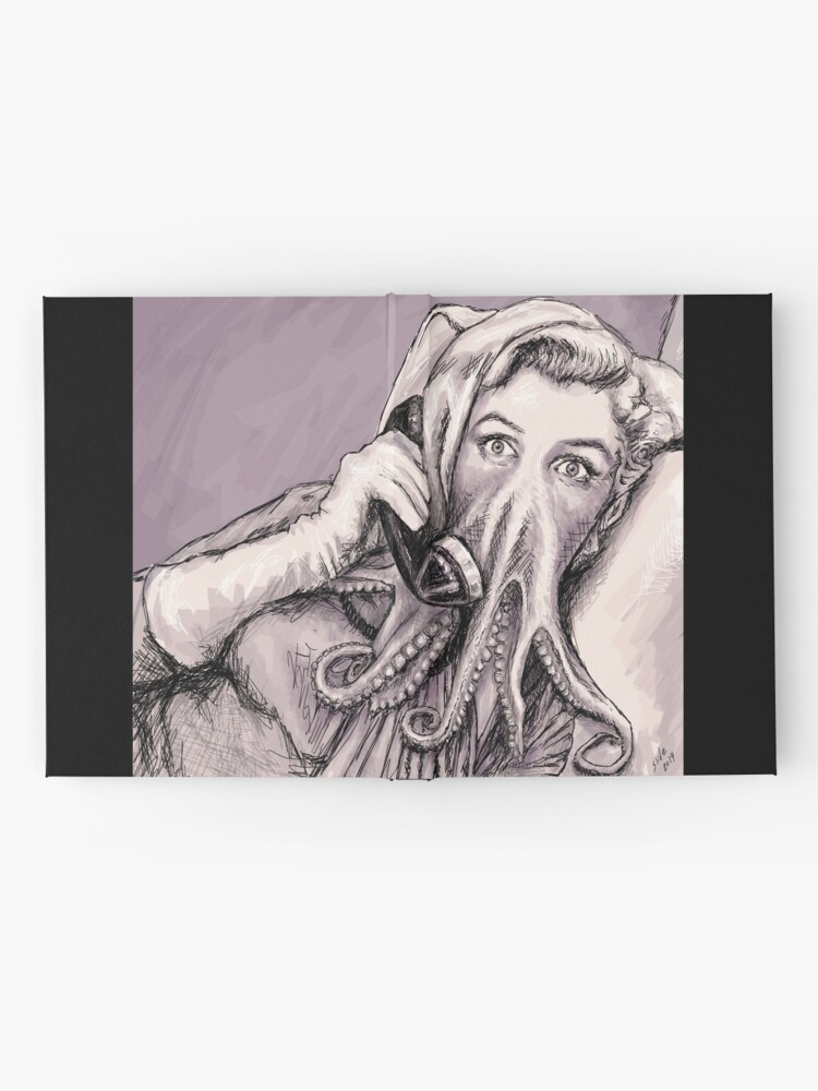 Alternate view of Phone Call of Cthulyn Hardcover Journal