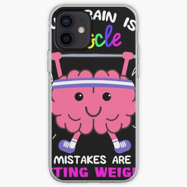 Growth Mindset Teacher product, Inspirational designs iPhone Soft Case