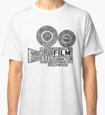 Film Camera Typography - Black Classic T-Shirt