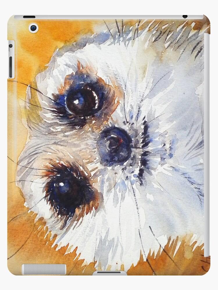 Simples! Meerkat iPad case by Ruth S Harris