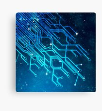 tree of technology Canvas Print