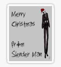 Slender Christmas Sticker