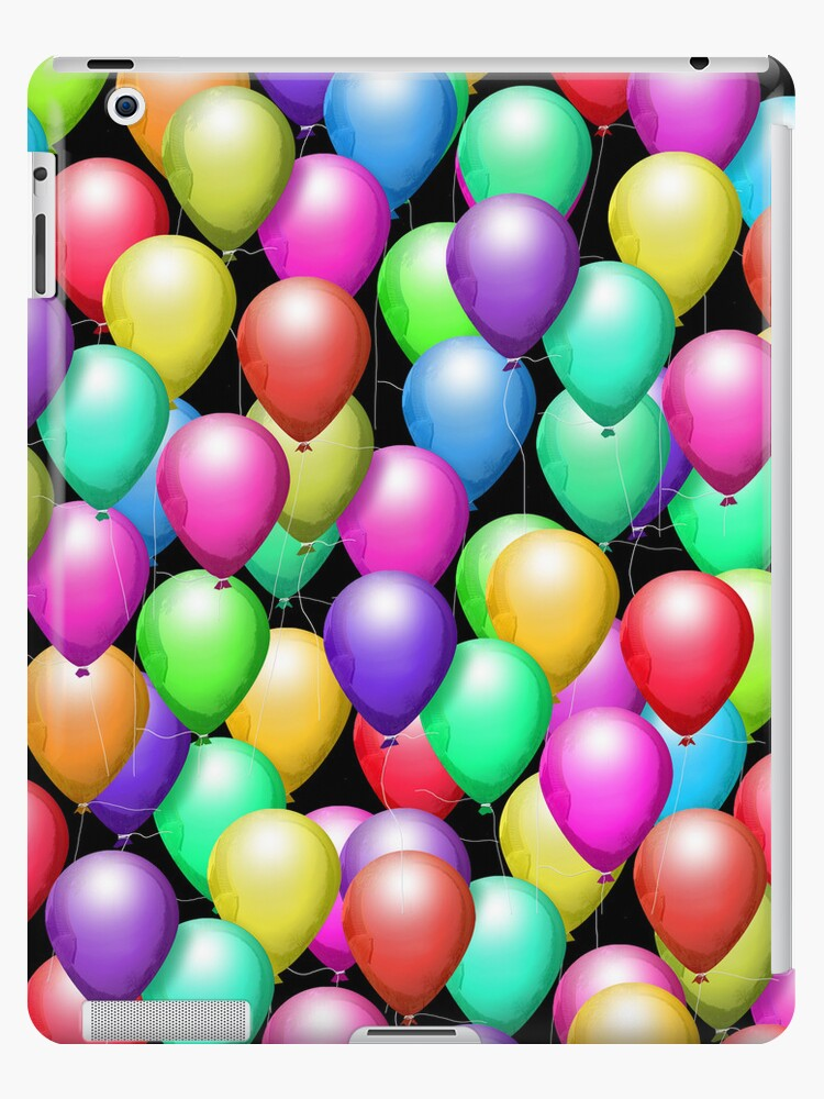 Party Balloons! iPad Case by CheriesArt