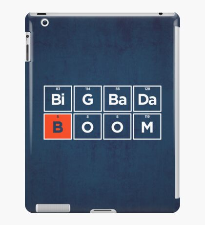 Boron iPad Case/Skin