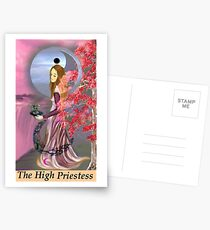 THE HIGH PRIESTESS Postcards