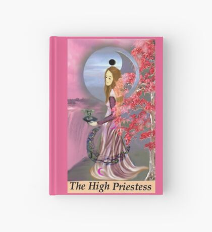 THE HIGH PRIESTESS Hardcover Journal