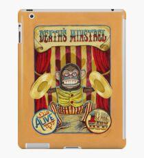 Death's Minstrel: Jolly Chimp Sideshow Banner iPad Case/Skin