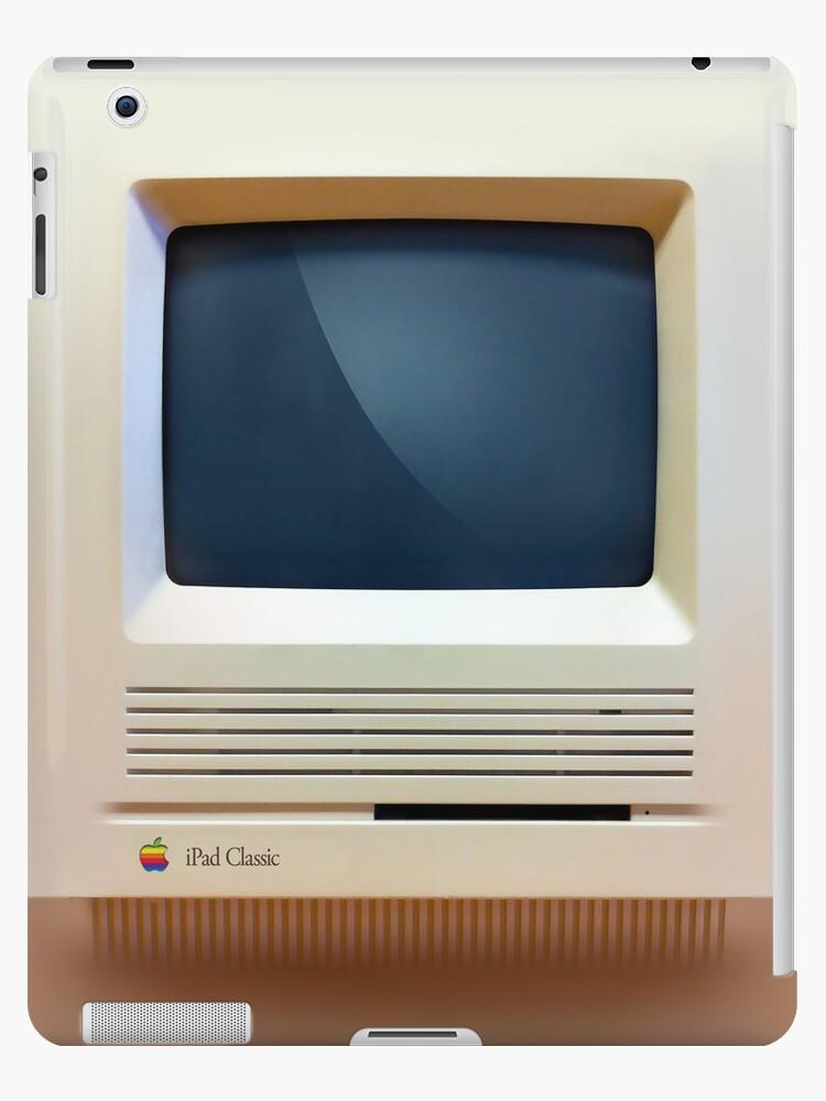 iPad Classic Retro Macintosh iPad Case by abinning