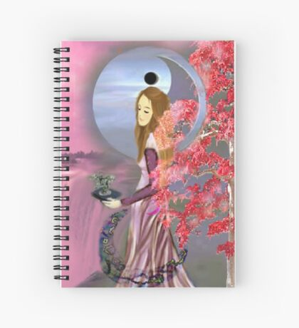 THE HIGH PRIESTESS Spiral Notebook