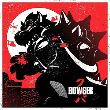 Bowserzilla by javiclodo