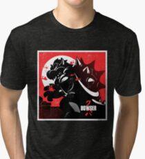 Camiseta de tejido mixto Bowserzilla