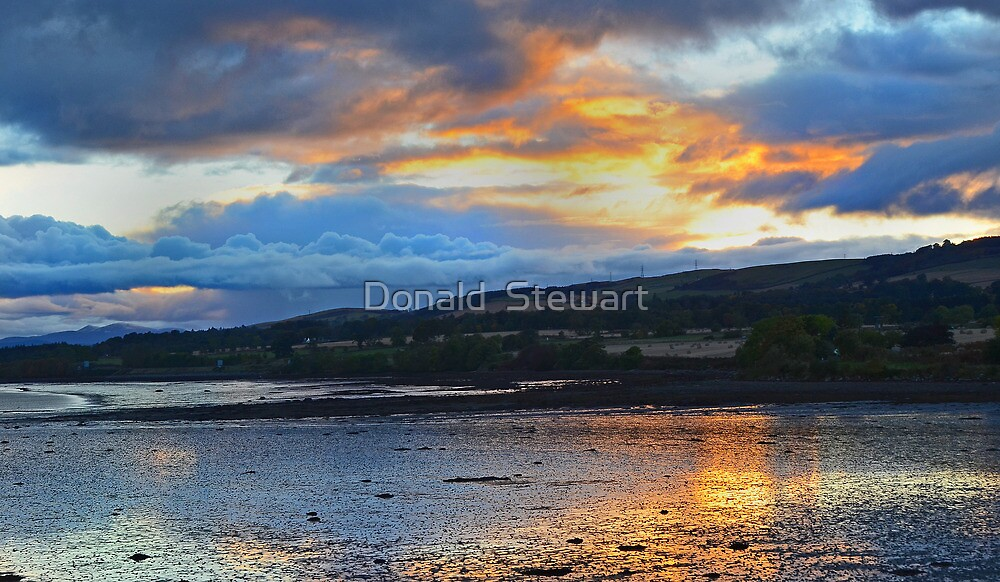 Cromarty Sunset by Donald  Stewart