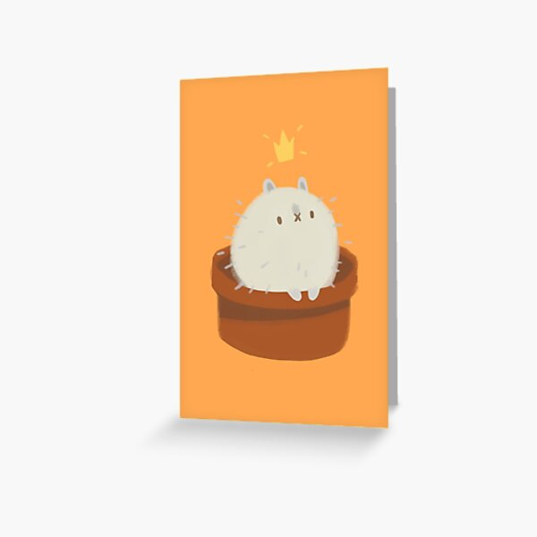 Hedgie Bun Greeting Card
