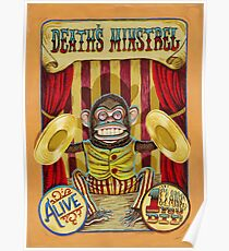 Death's Minstrel: Jolly Chimp Sideshow Banner Poster