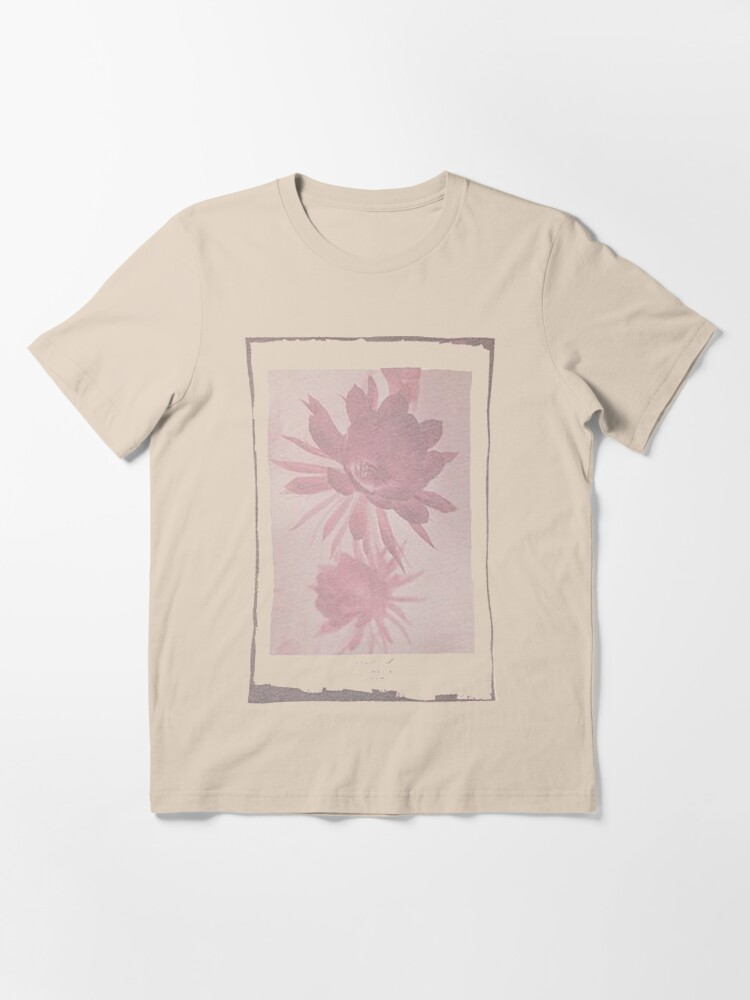 Alternate view of 12th Doctor Negative Flower T-Shirt Essential T-Shirt