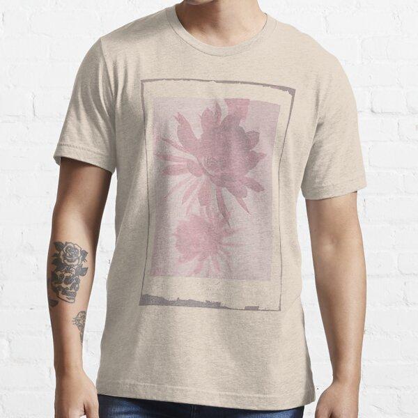 12th Doctor Negative Flower T-Shirt Essential T-Shirt