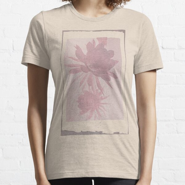 12th Doctor Negative Flower T-Shirt Essential T-Shirt