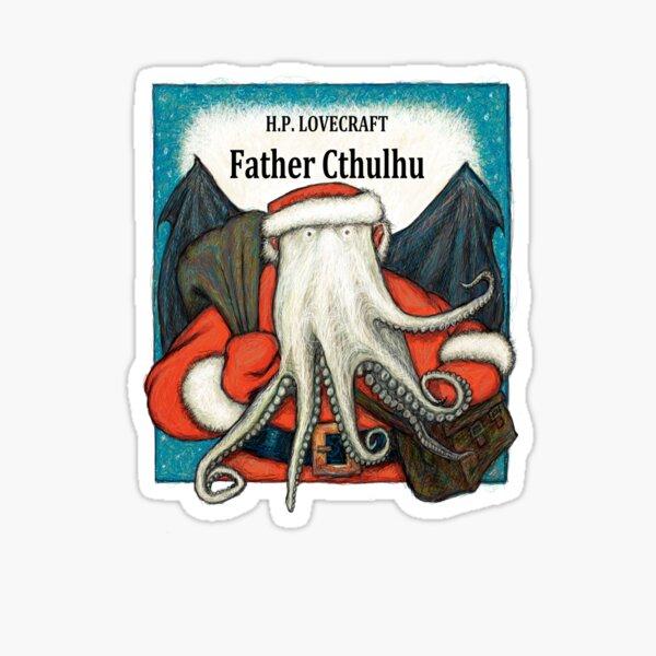 Father Cthulhu Sticker
