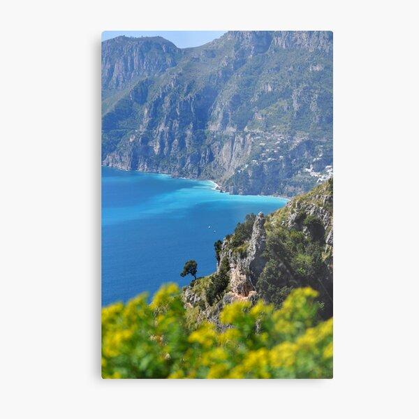 Amalfi Coast, Italy Metal Print