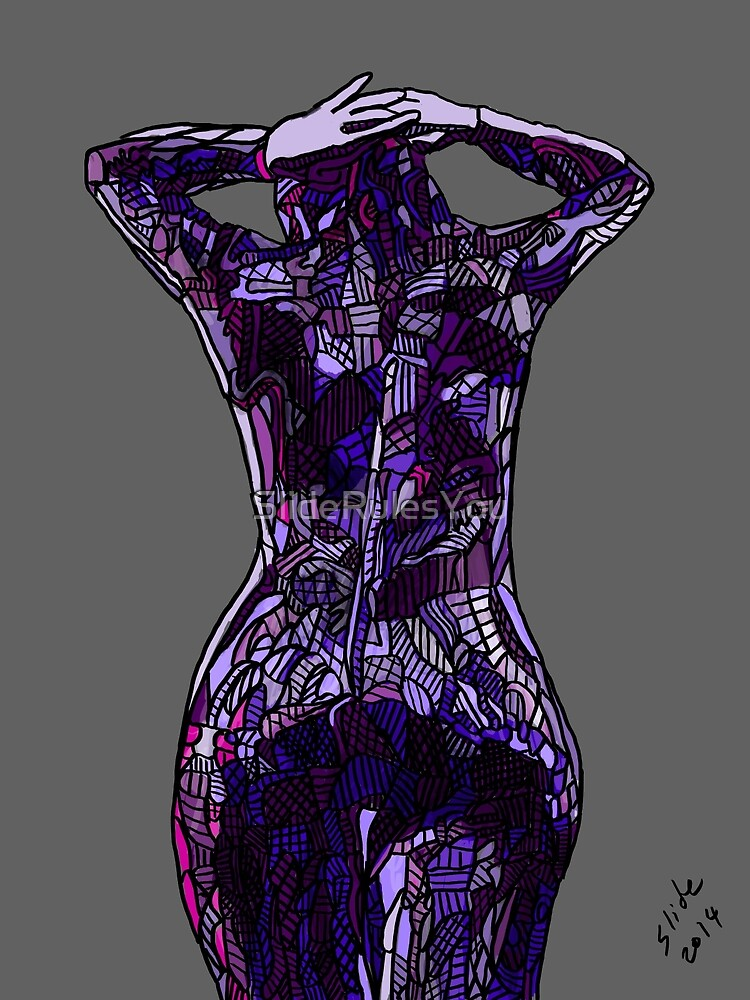 Purple Latex, 2014 by SlideRulesYou