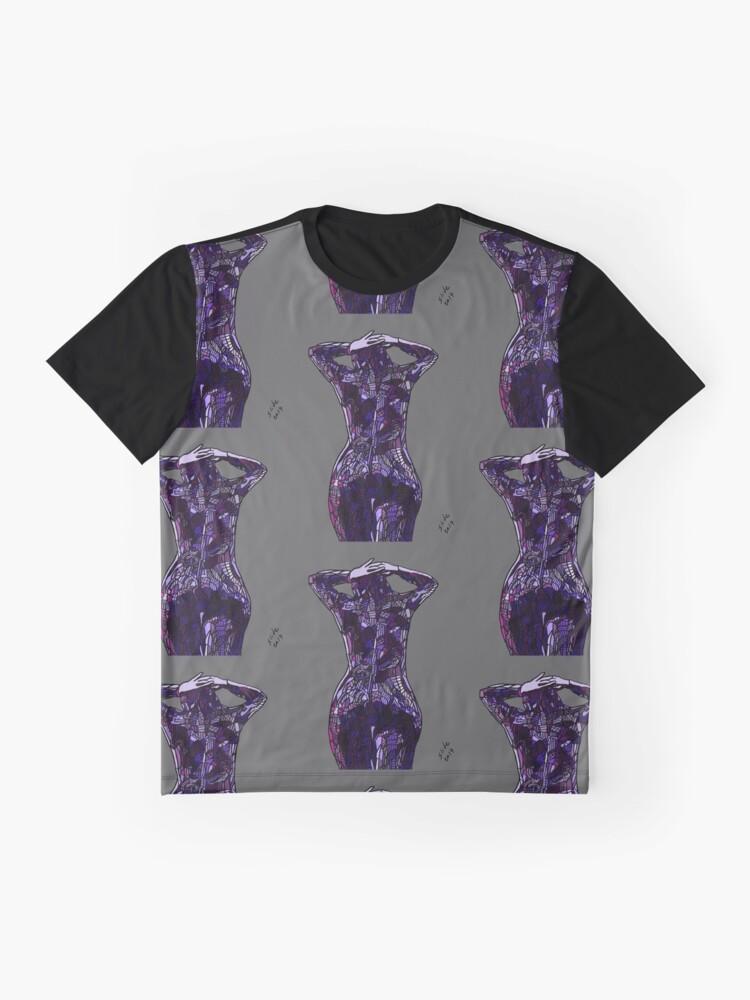 Alternate view of Purple Latex, 2014 Graphic T-Shirt