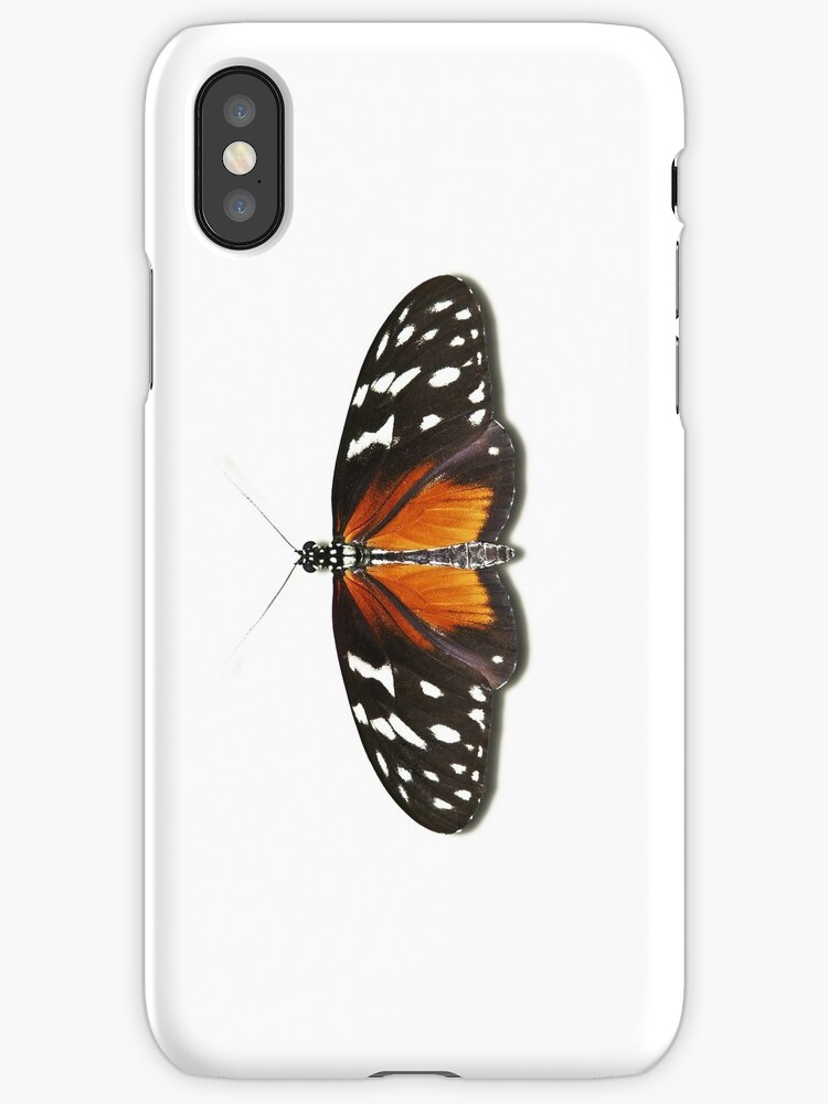 Smartphone Case Butterfly - Golden Helicon by mpodger