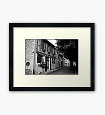 Rue même Framed Print