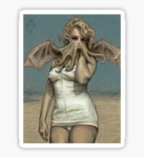 """""""Call of Cthulyn, 2014""""  Sticker"""