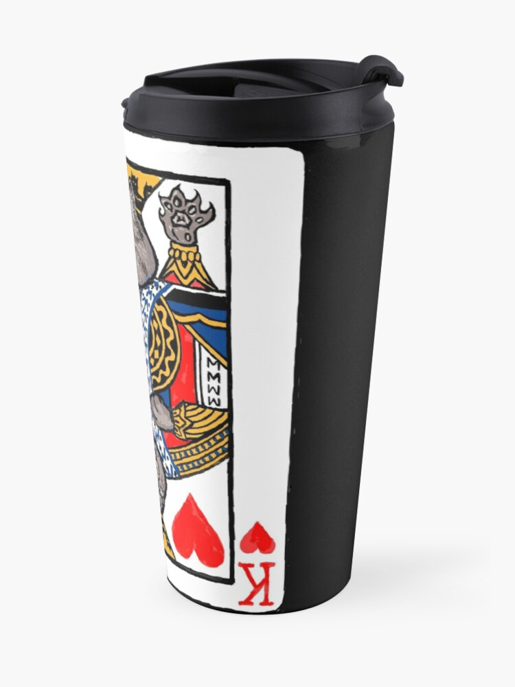 Alternate view of Moriarty, King of Hearts Travel Mug