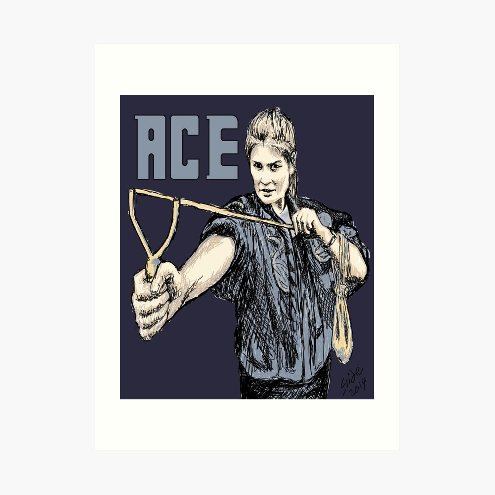 """Ace, 2014""  Art Print"