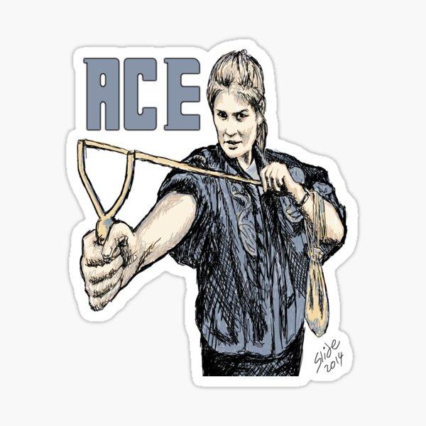 """Ace, 2014""  Sticker"