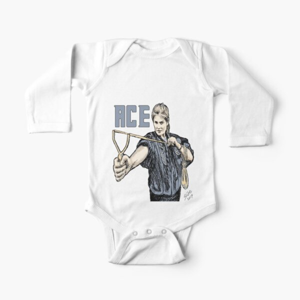 """""""Ace, 2014""""  Long Sleeve Baby One-Piece"""