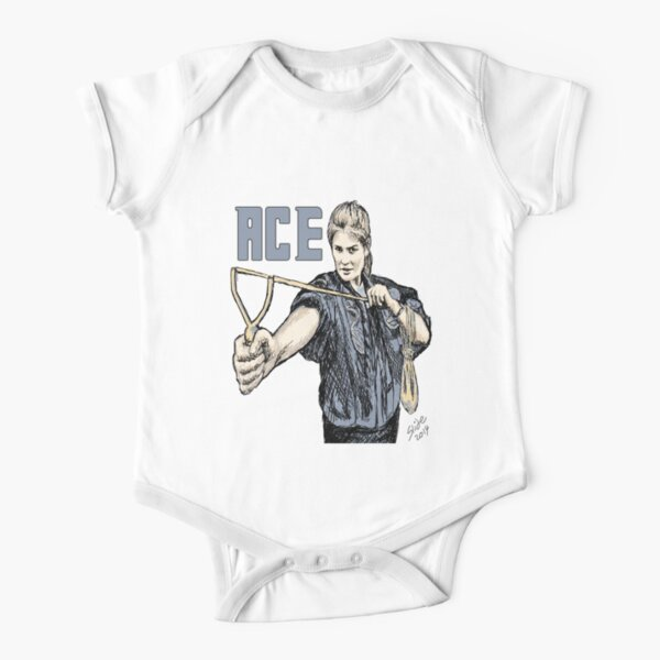 """""""Ace, 2014""""  Short Sleeve Baby One-Piece"""