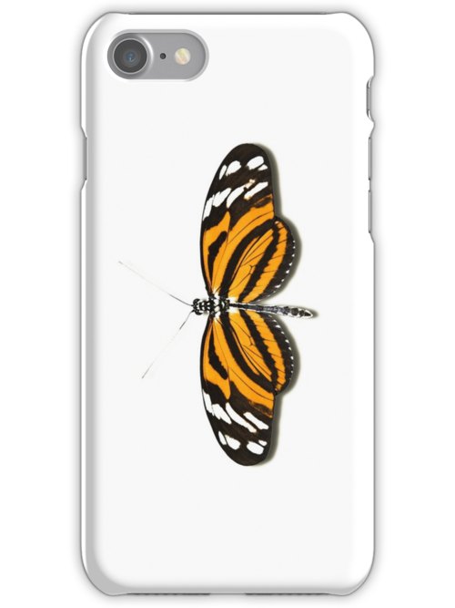 Smartphone Case - Butterfly - Tiger Longwing by Mark Podger