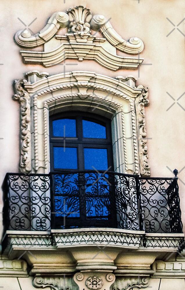 Blue Window by Heather Friedman
