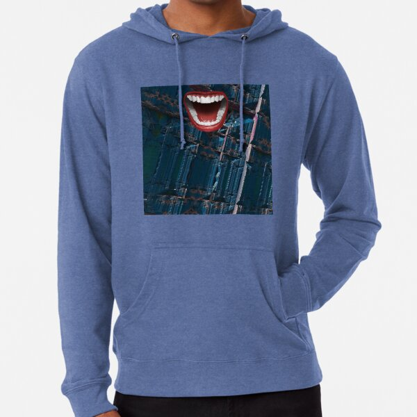 Smile Design Lightweight Hoodie