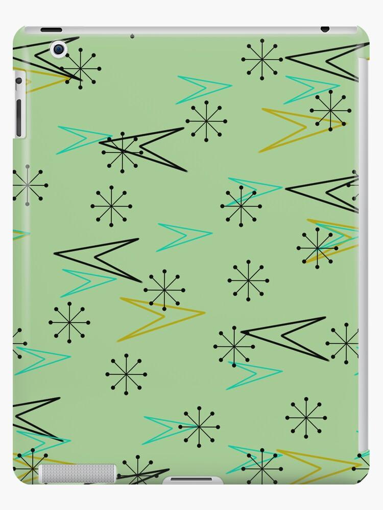 Atomic Arrows, Vintage Fifties Look iPad Case by CheriesArt