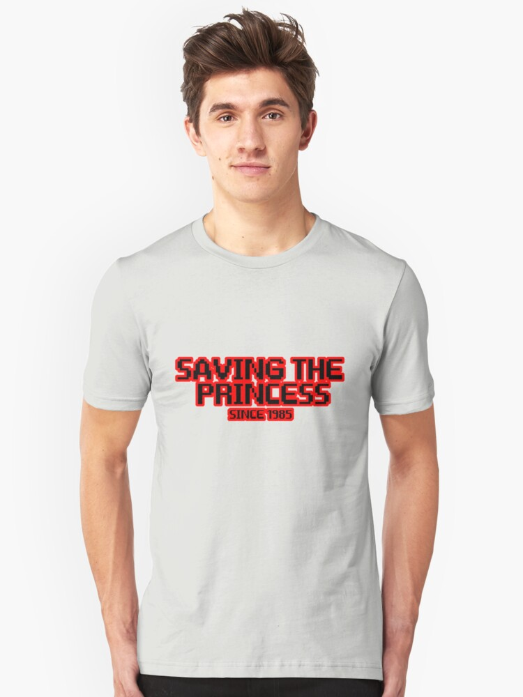 Saving The Princess Since 1985 Unisex T-Shirt Front