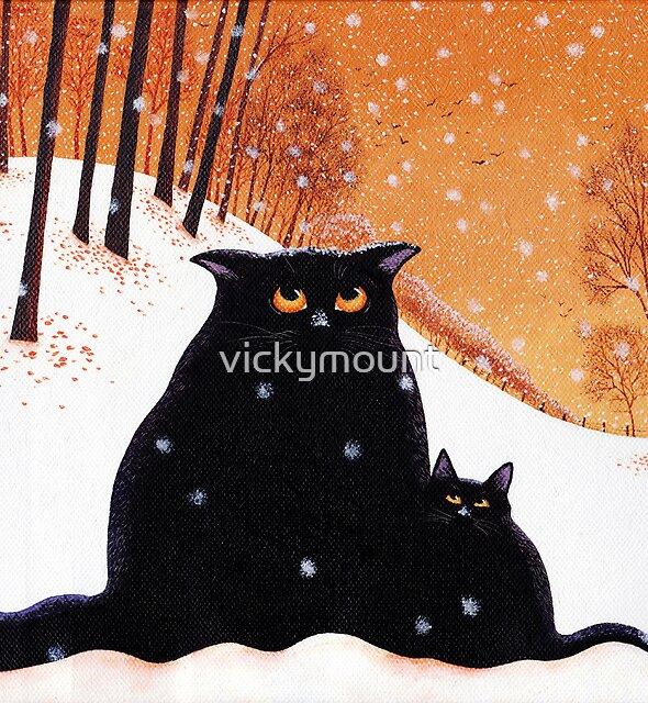 Lou-Lou and Lolas' snowflake wish. by vickymount
