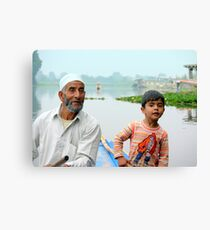My Water Taxi Drivers Canvas Print