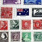 Stamps from Australia by Steve Outram