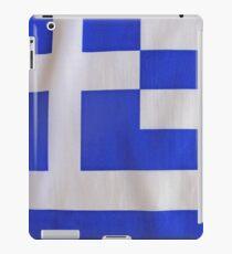 Greek Flag iPad Case/Skin