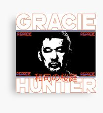the gracie hunter Canvas Print