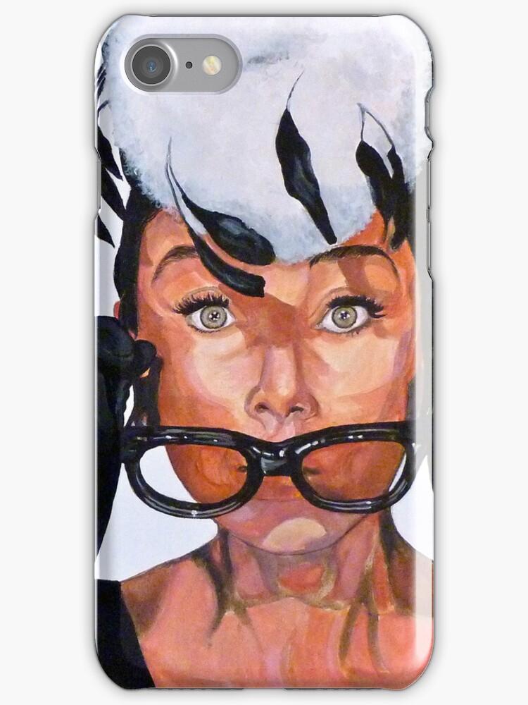 Audrey Hepburn by Tom Roderick